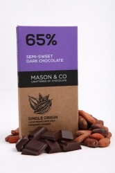 Semi Sweet Dark Chocolate 70 Gms-Mason