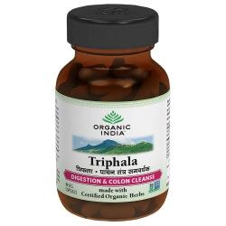 Triphala 60 Capsules-Organic India