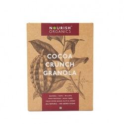 Cocoa Crunch Granola 300 Gms-Nourish
