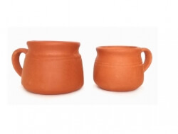 Terracotta Tea Cup 200 Ml-The Indus Valley