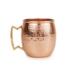 Hammered Copper Mug