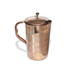 Plain Copper Jug 1.6 Ltrs