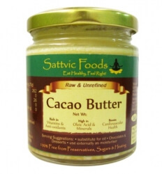 Cacao Butter 150 Gms-Sattvic Foods