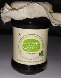 Coriander Pickle 150 Gms-Jyos
