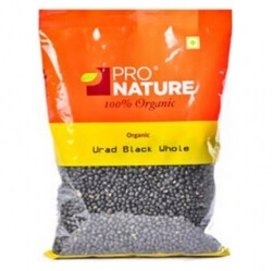 Urad Black Whole 500 Gms-Pro Nature