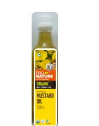 Mustard Oil 500 Ml - Pro Nature