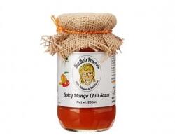 Spicy Mango Chili Sauce 200 Ml-Martha's Preserves