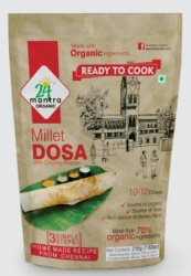 Millet Dosa Mix 200 Gms- 24 Mantra