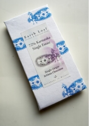 72% Karnataka Single Estate Chocolate Bar 72 Gms-Earth Loaf
