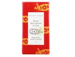 Mango Red Capsicum & Chilli Chocolate Bar 72 Gms-Earth Loaf