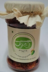 Sun Dried Mango Pickle 150 Gms-Jyos