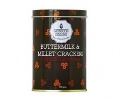 Millet Crackers Cracked Black Pepper 100 Gms-Monsoon Harvest