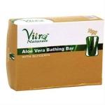 Aloe Bathing Bar 75 Gms-Vitro Naturals