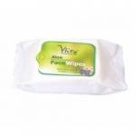 Aloe Face Wipes 30 Tissues-Vitro Naturals