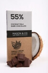 Coconut Milk Dark Chocolate 70 Gms-Mason