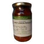 Lemon Spicey Pickle 400 Gms-Navadarshanam