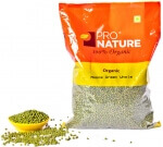 Moong Green Whole 500 Gms-Pro Nature