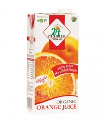 Orange Juice 1 Ltr-24 Mantra