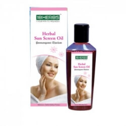 Ponnanganni Thailam Sunscreen Oil 100 Ml-18herbs