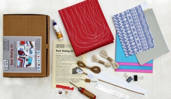 Do it yourself games book binding kit book binding kit active hand solutioingenieria Choice Image